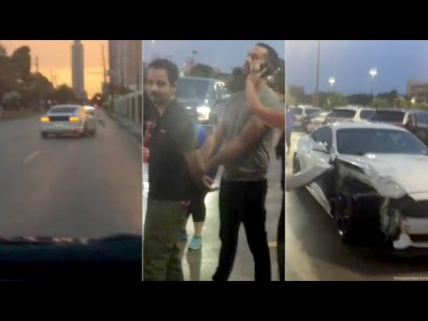 Man conducts citizen's arrest of erratic driver