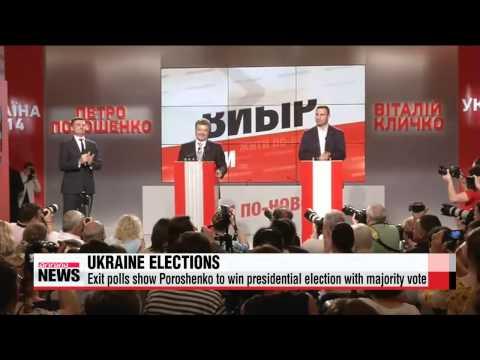 Billionaire Poroshenko claims victory in Ukraine election