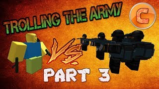 TROLLING WAR GROUPS! (PART 3) | Roblox Funny Moments