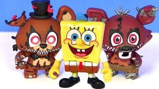 - Губка Боб Квадратные Штаны Spongebob Сюрпризы от ФНАФ Видео для Детей FNAF Sister Location
