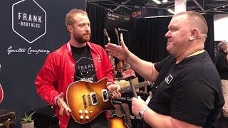 NAMM 2018 - Frank Brothers Guitar Co.