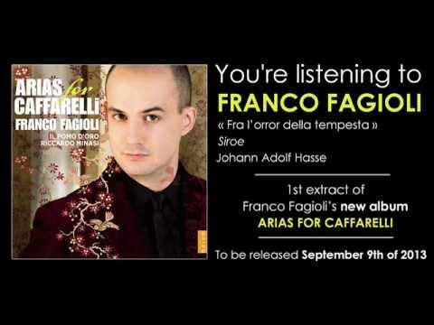 FRANCO FAGIOLI - fra l'orror della tempesta - Siroe - Hasse (from new album