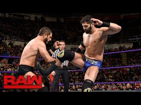 Austin Aries vs. Ariya Daivari: Raw, March 13, 2017