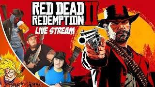RED DEAD REDEMPTION 2! ONLINE DRUNK MADNESS W/ PSHYCHO STEVE & FRIENDS LIVE STREAM