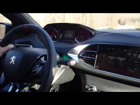 Peugeot 308 GTi - drive and hard acceleration