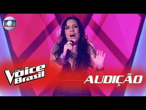Samantha Ayara canta 'Não Vale a Pena' nas Audições - 'The Voice Brasil' | 5ª Temporada