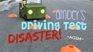 Gambar cover Amber's Driving Test Disaster!~ AGSM by White Fox Stopmotion | #AGZCREW