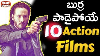10 Action films that will blow your mind | Explained in Telugu | ...