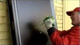 Двери Форпост - проверка на прочность.flv