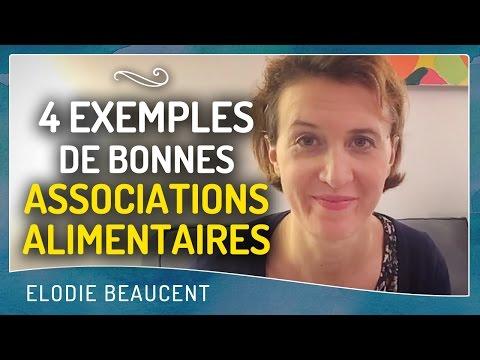 4 exemples de BONNES ASSOCIATIONS ALIMENTAIRES