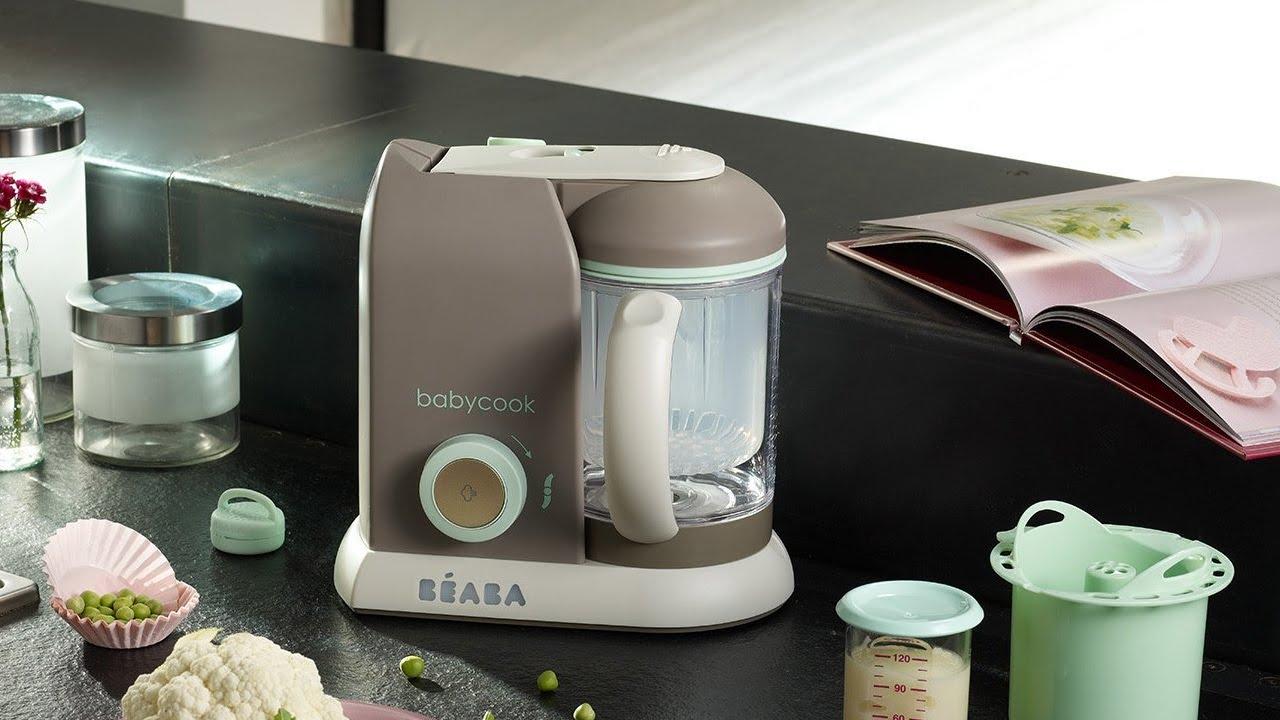 Beaba Pro Baby Food Maker Youtube Babycook Duo Plus Grey