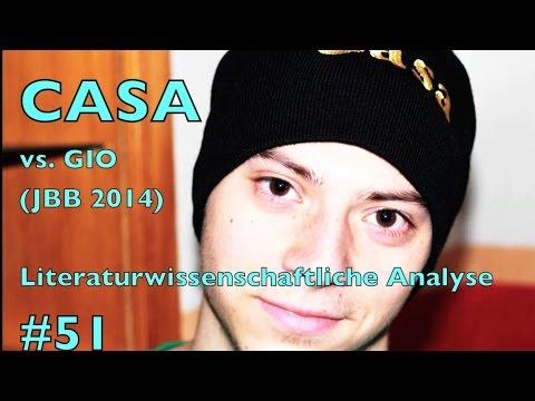 Casa vs. Gio JBB 2014 Achtelfinale - Literaturwissenschaftliche Analyse #51