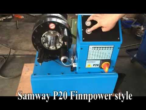 FINNPOWER P20 Hose Crimping Machine by Samway