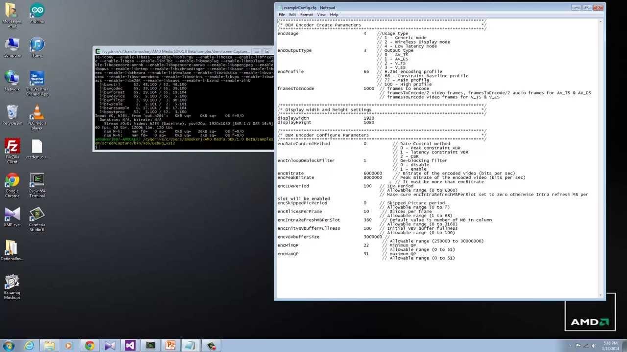 AMD Media SDK Tutorial : Using the AMF-DEM Library in Latency Sensitive Apps