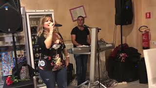 Anila Keci Besri Domi Ermir Domi pershendes Anila Shahini live ne Verceli