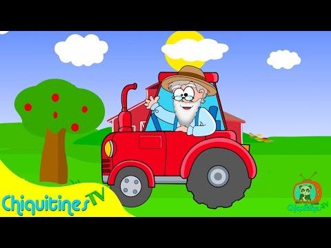 El Viejo McDonald tenía una granja - Canción Infantil - Old McDonald en español - Canción para niños