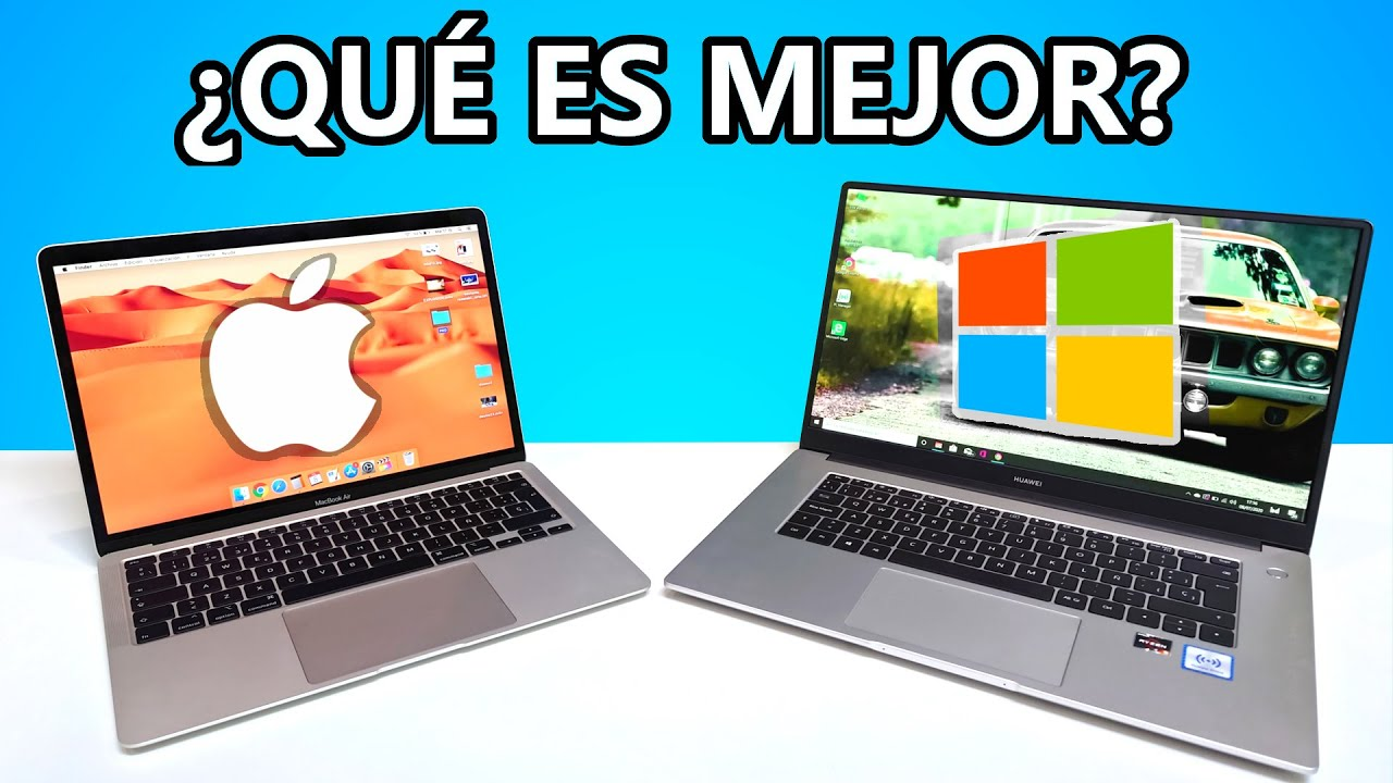 Mac vs PC, LA COMPARATIVA DEFINITIVA - ¿Es mejor un Macbook o PC Windows? 2020 en español