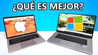 Mac vs PC, LA COMPARATIVA DEFINITIVA - ¿Es mejor un Macbook o PC Windows? 2020 en español