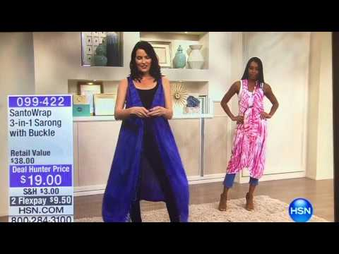 SantoWrap: Featured on HSN Deal Hunter. http://bit.ly/2Yb8h6Y