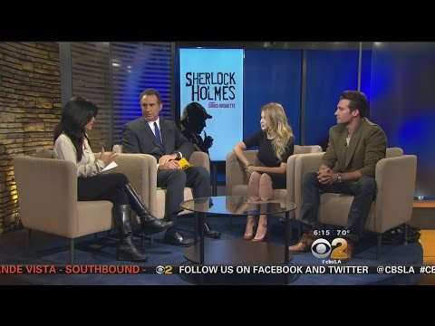 James Maslow, Renee Olstead Discuss Touring Production Of 'Sherlock'