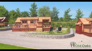 Old Oaks Cedar Lodges -  Glamping in Glastonbury