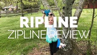 Ripline Zipline Review, Setup & Demonstration