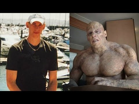 Martyn Ford transformation from 17 to 35 years old
