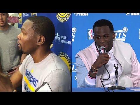 "Kevin Durant IMPERSONATES LaVar Ball, Draymond Green Calls ""Bullsh*t"" on Klay Thompson All-NBA Snub"