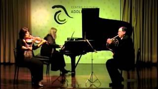 Brahms: Trío op. 40, 3. Adagio mesto - Nedyalkova - Takhmanov - Aguirre