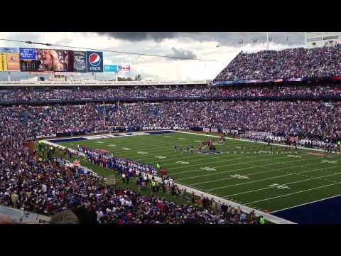 National Anthem on Ralph Wilson Stadium
