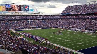National Anthem on Ralph Wilson Stadium