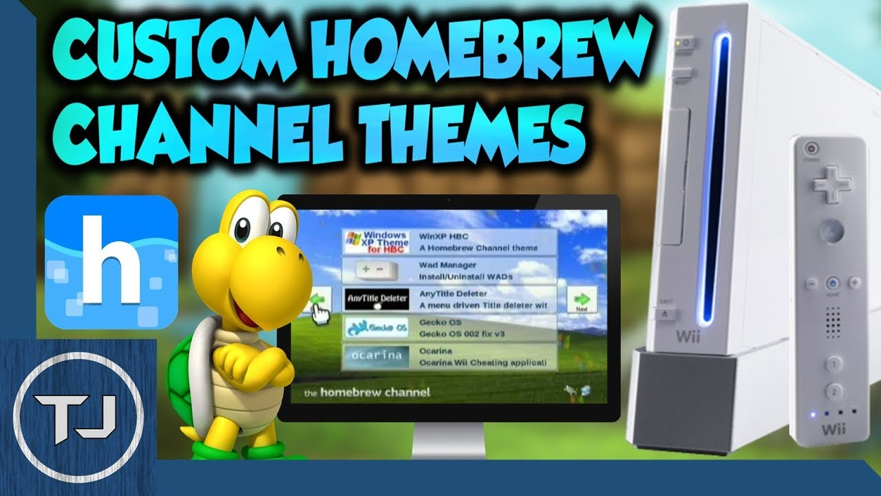 Install apps homebrew channel wii hack