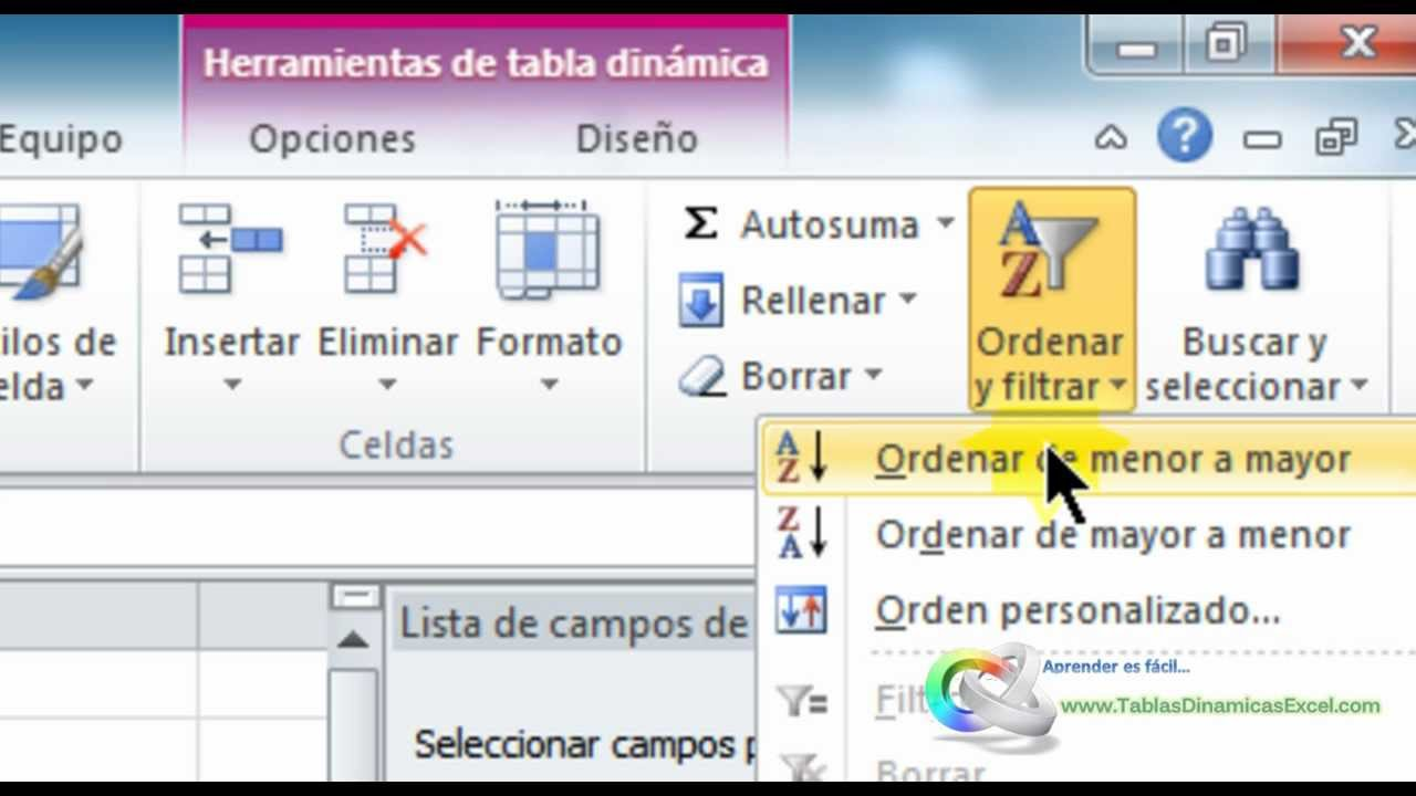 Tablas dinamicas excel 2010 crear tabla dinmica sencilla y su tablas dinamicas excel 2010 crear tabla dinmica sencilla y su grfico youtube urtaz Gallery