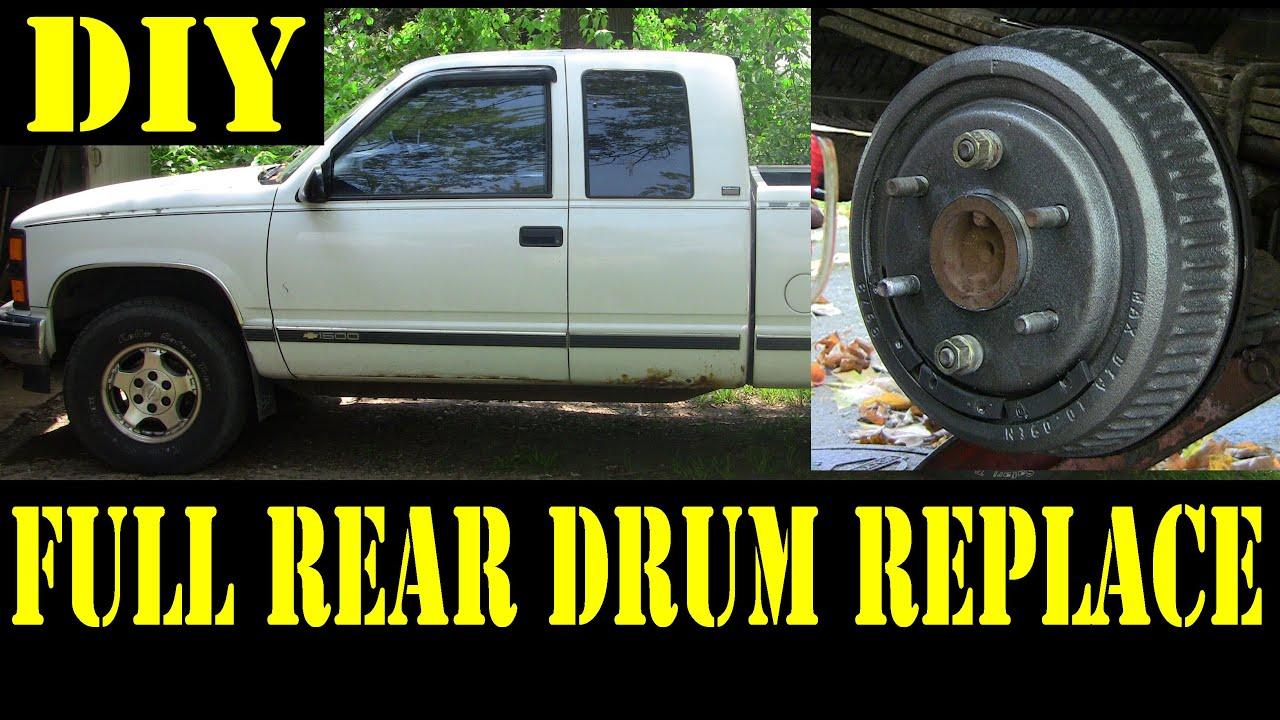 Chevy Truck 1500 Rear Drum Brake Diagram