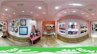 LINE FRIENDS - CHOCO's Boutique House in Shanghai, China (VR)