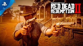 Red Dead Redemption 2 - Gameplay Video Part 2 | PS4