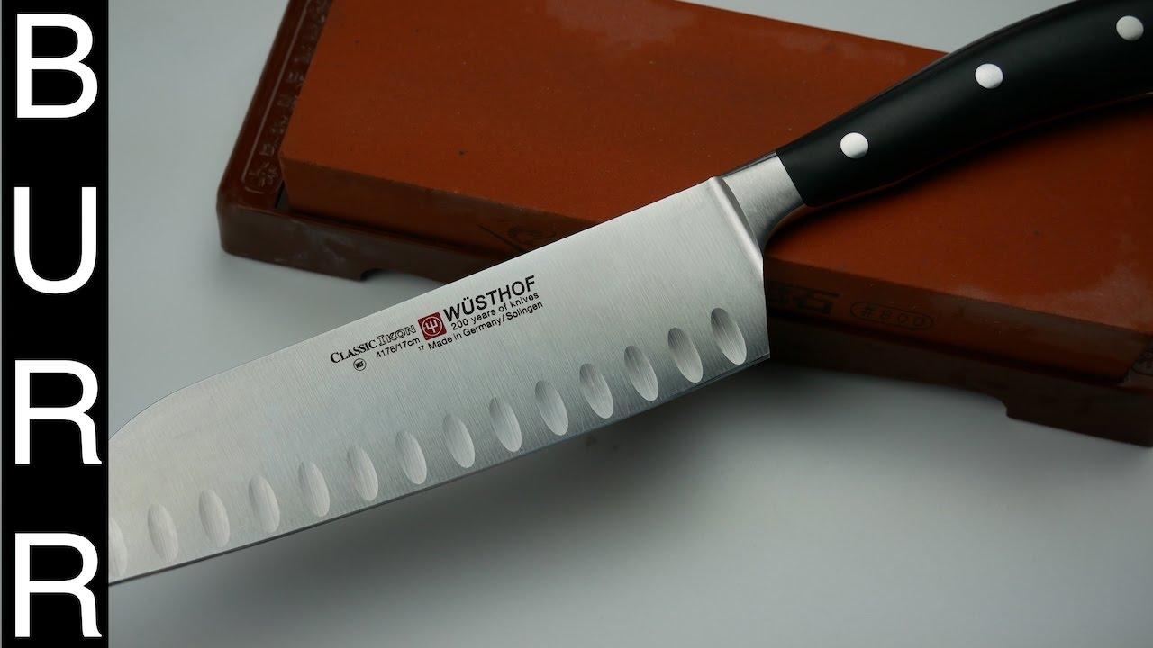 Uncategorized How To Sharpen Kitchen Knives how to sharpen santoku knife on japanese whetstone youtube whetstone