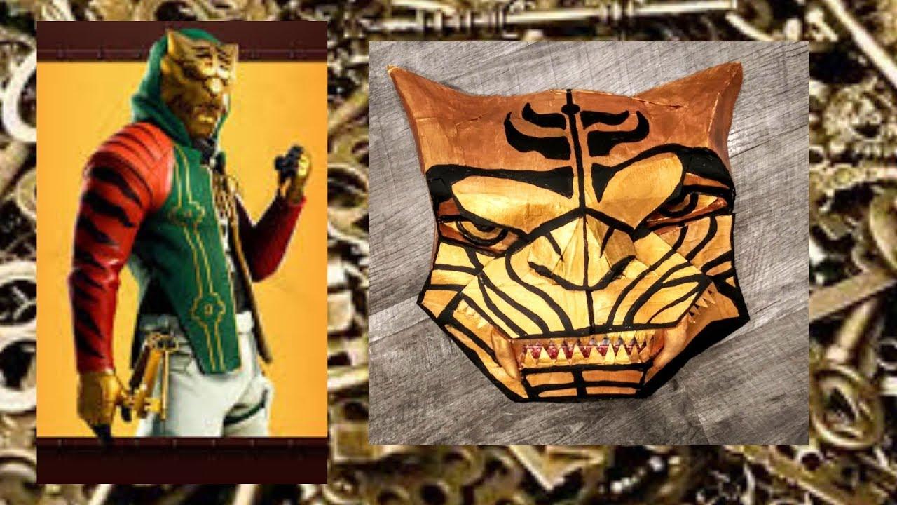 Diy Master Key Fortnite Skin Mask Youtube
