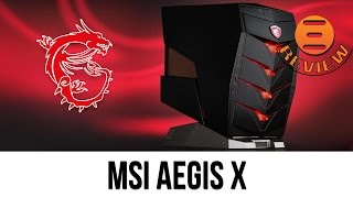 MSI Aegis X Review - Best Gaming PC For £2000?