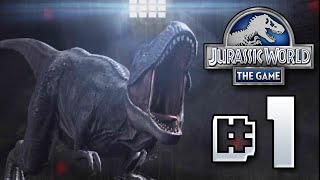 Jurassic World - The Game || Fight!! Ep 1 HD