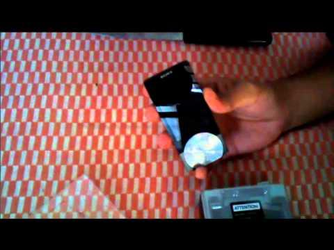 SONY Walkman NWZ A844 (8GB) Black Unboxing