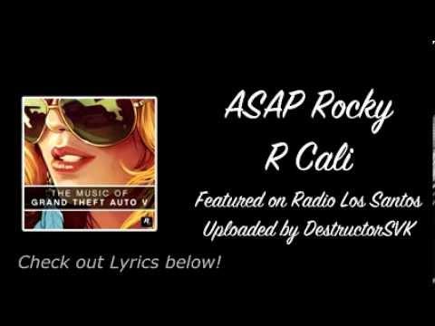 ASAP Rocky - R Cali [GTA V]
