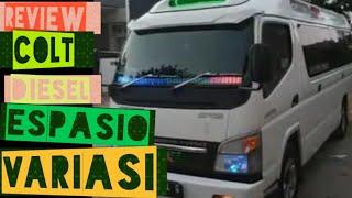 PROFIL MITSUBISHI CANTER ESPASIO FE 71 LONG JET BUS 3+