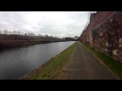 Leeds Liverpool Canal from Bootle to Liverpool March 2016