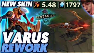 INSANE PENTAKILL WITH NEW VARUS | NEW SKIN - BunnyFuFuu
