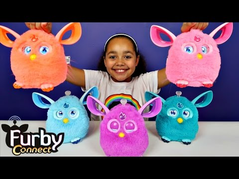 Ad - Furby Connect Collection - Connect World App - Surprise Toys For Kids - Kids Toy Review