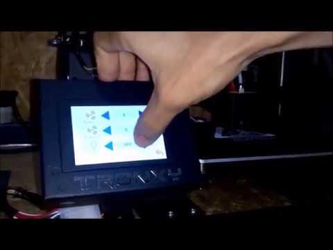 Repeat Configurações do LCD - Tronxy xy2 by Draw Tech 3D