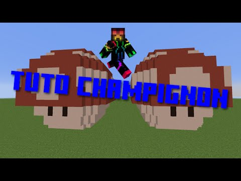 Tuto Champignon Mario Dans Minecraft 3d