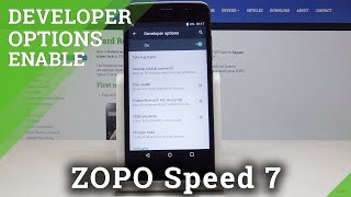 How to Activate Developer Options in ZOPO Speed 7 - ZOPO Developer Mode