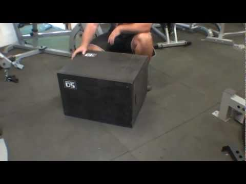 3 In 1 Plyometric Box - PLYO-MULTI From Force USA Gym Equipment
